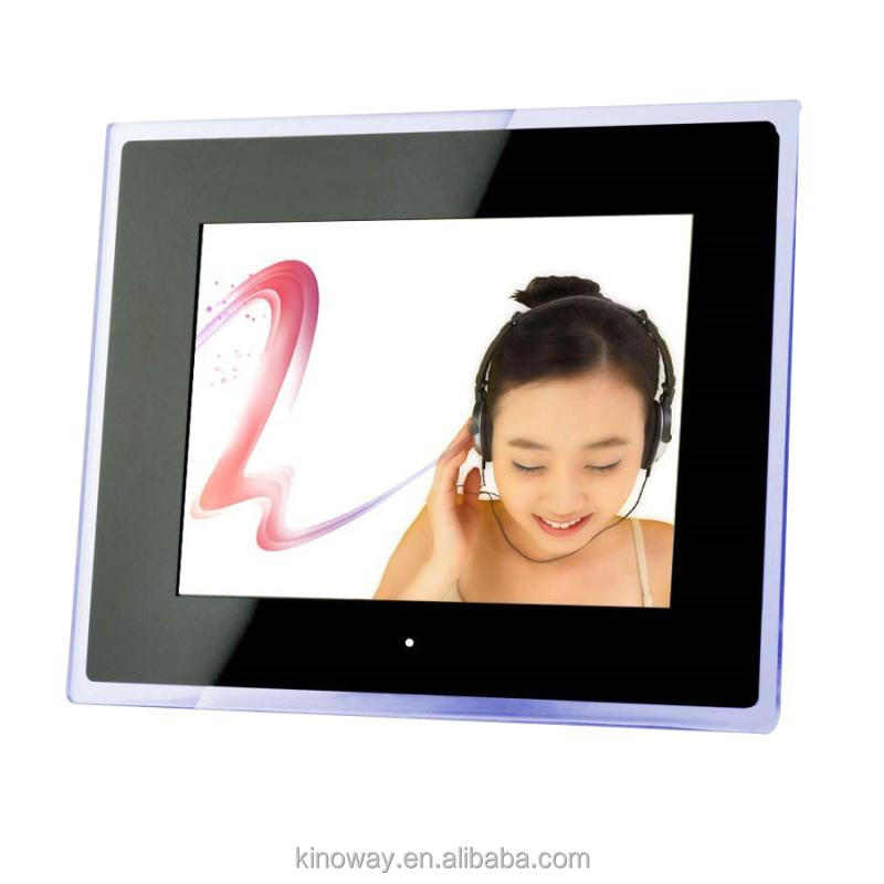 2014 ShenZhen new design digital photo frame with media player , digital photo video mp4 player