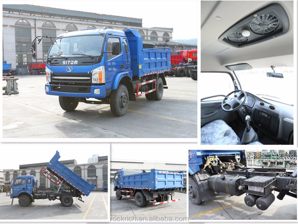 Gabon Nice Images Sitom 4x2 Driving Type 9 Ton Dump Truck For Sale In Ga