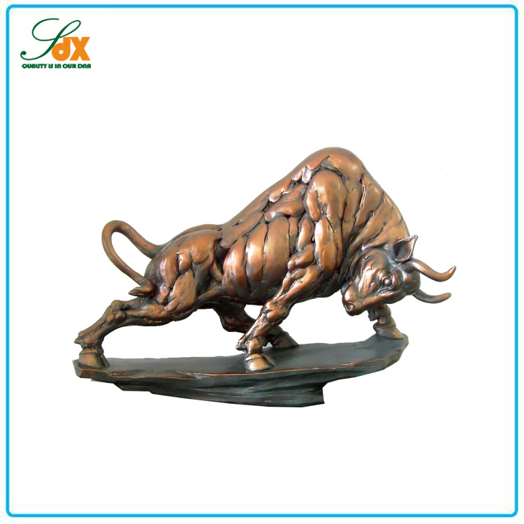 Customized Best Sell High Quality Brass Bull Figurines
