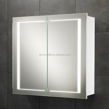 New style Wall mount medicine cabinet with double sided mirror door,led lighted mirror cabinet ,illuminated bathroom cabinet