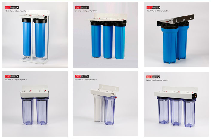 Hot sale PPFZ-20BB-B01 zhejiang cixi eastcooler PP pleated water filter cartridge water filter system