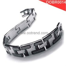 Fine Men bracelets made of free allergy 316L stainless steel