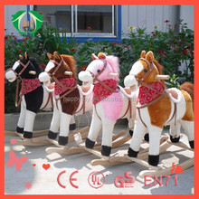 HI CE 2015 wooden rocking horse toy kids swing horse toy