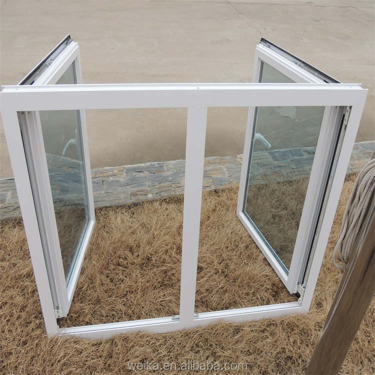 Luxury high quality aluminium tilt&turn casement windows