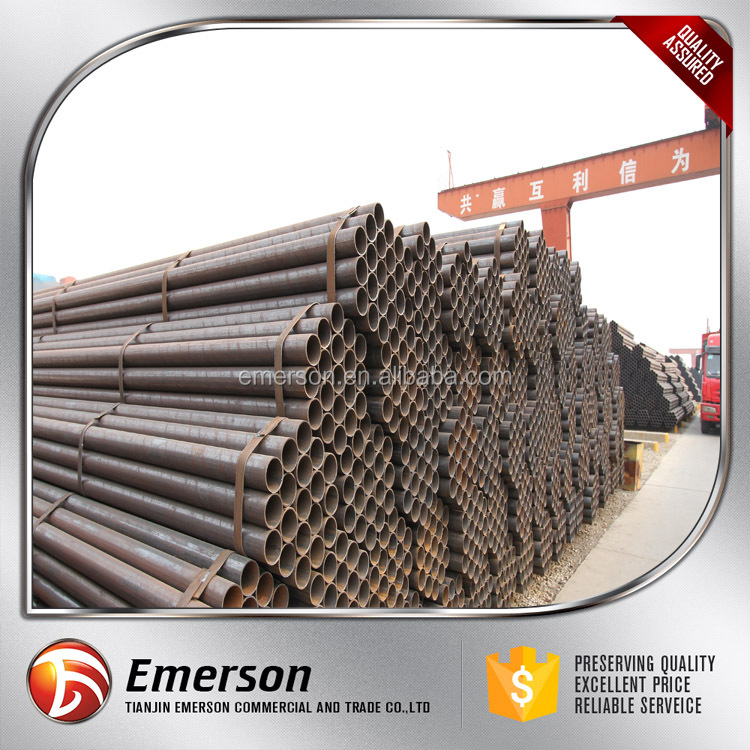 ASTM SA178 ERW welded steel 3lpe coating pipe metal pipe