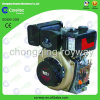 air cooling electric start 3000/1500rpm small diesel engines/diesel power 4 stroke 2 cylinder engine