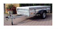 UV Protection Flat Cargo Trailer Covers