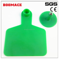 Barcode cattle ear tag,laser ear tag,female tag 75*60mm