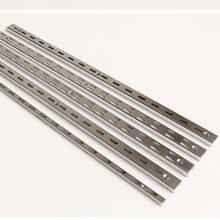 iron chrome plating double slot c channel