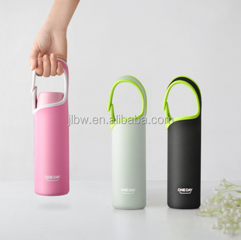 New year gift Vacuum Stainless Steel bottle cup with warm cover custom logo