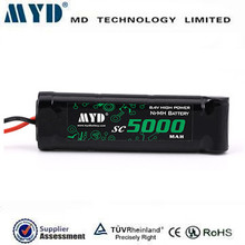 Nimh rechargeable battery 5000mah 8.4v ni-mh battery pack for airsoft Gun Battery