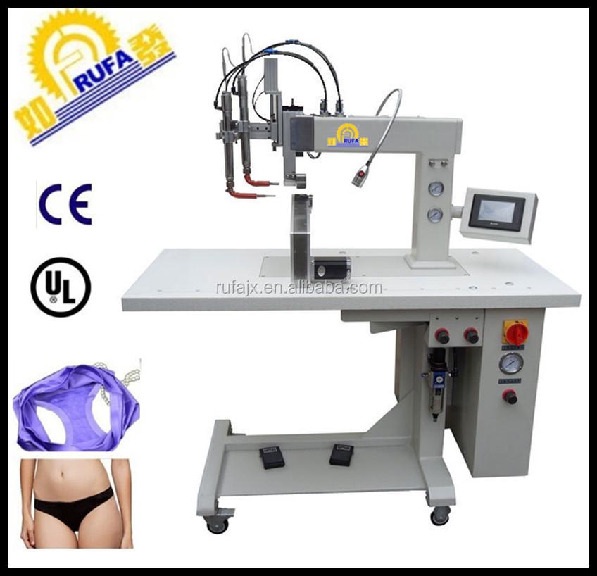 Knitting Machine Programmable : Thermo sealing seamless underwear making machine on sale
