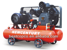 Portable diesel industrial air compressor with Cummins engine