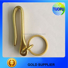 Factory outlet solid gold brass u shape hooks in factory price,high quality hooks and circle in promotion