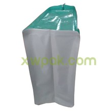 Flat Bottom Plastic Dog Food Packaging Bag With Zip Lock