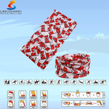 LSB-0096 Ningbo Lingshang 100% polyester multifunctional wholesale outdoor neck tube african sego hayes headtie