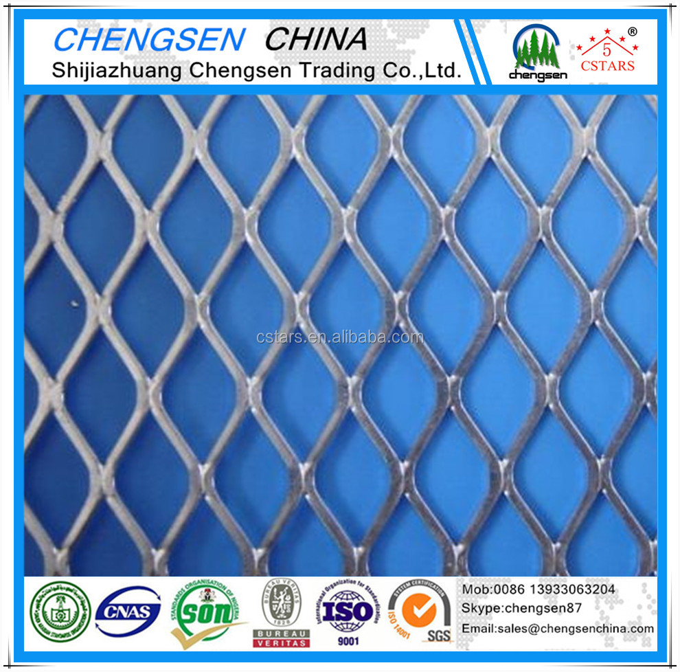 PVC Coated & Galvanized Expanded Metal <strong>Mesh</strong>