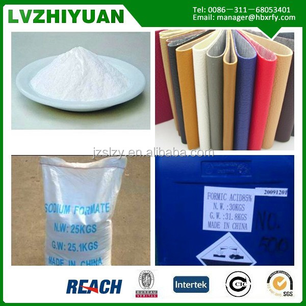 Industrial Grade Organic Chemicals 98% Sodium Formate for Snow Melting Usaging