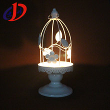 DH-007 christmas outdoor decorations hollow out iron art candlestick decorations custom chinese lantern
