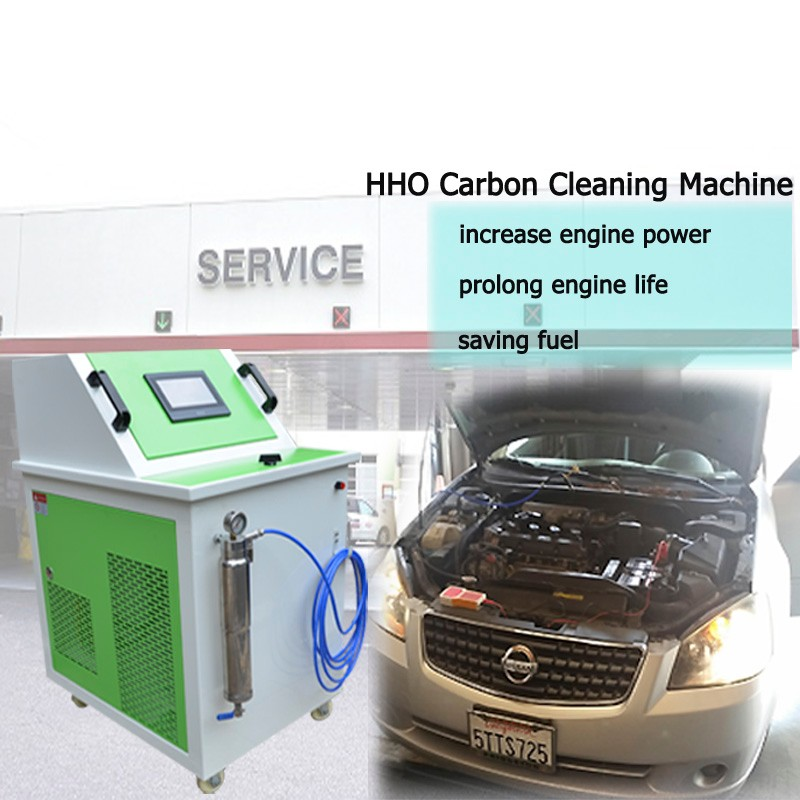 Energy-saving hho engine parts cleaning machine/automotive service equipment for motor,car,bus,truck
