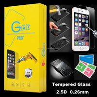 2.5D 9H Premium Tempered Glass Film Screen Protector for iphone 7 With Retail package