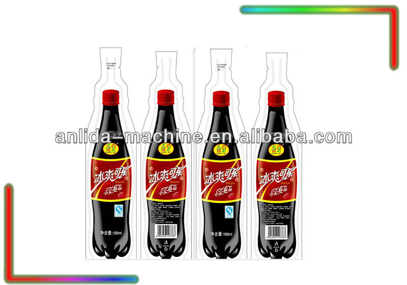 200ml cola bottle shape beverage pouch