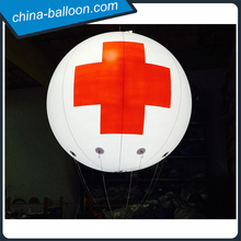 Flying helium balloon light inflatable led helium balloon night light balloon for outdoor rescue events