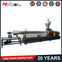 Meizlon plastic film granulator machine/ pp pe film recycling pelletizing extruder