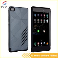 Wholesale bulk cheap pc+tpu two in one cell phone case for huawei honor bee