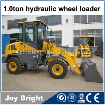 1ton wheel loader with CE