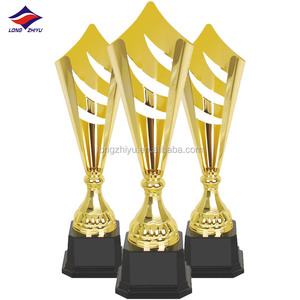 Hot elegant fashion design cheap plastic trophy cups