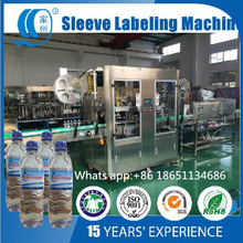 Bottle Neck and Body Both Sides Shrink Sleeve Labeling Machine