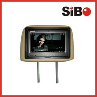 Hot sale inside taxi advertising screen 3g/wifi 9'' car lcd digital signage