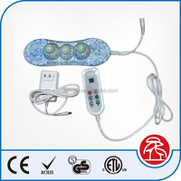 Jade stone electric vibrating massager handheld