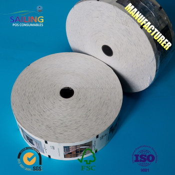 new promotion roll paper used in atm machine for thermal paper