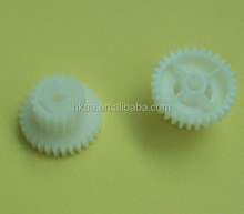plastic double spur gear combination printer gear fuser gear for printer