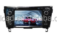Wince 6.0 car dvd player with 2 din car gps for X-Trail