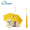 New innovations special reverse promotion pet dog umbrella