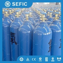 Sell to Thailand ISO9809-3 Water Capacity 40L Steel Oxygen Cylinders Capacity