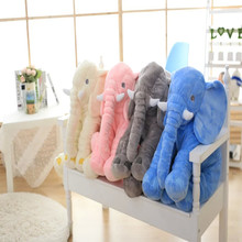 New High quality Wholesale custom plush elephant Pillow for baby /square pillow,sofa Hold pillow Case cover ,pillow manufacturer