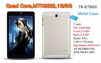 tablette pc 7 wifi android 4.4 os best cheap 7 inch MTK6582 quad core IPS screen 7inch Mobile Tablet