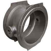 high quality OEM cast iron valve body and valve flange