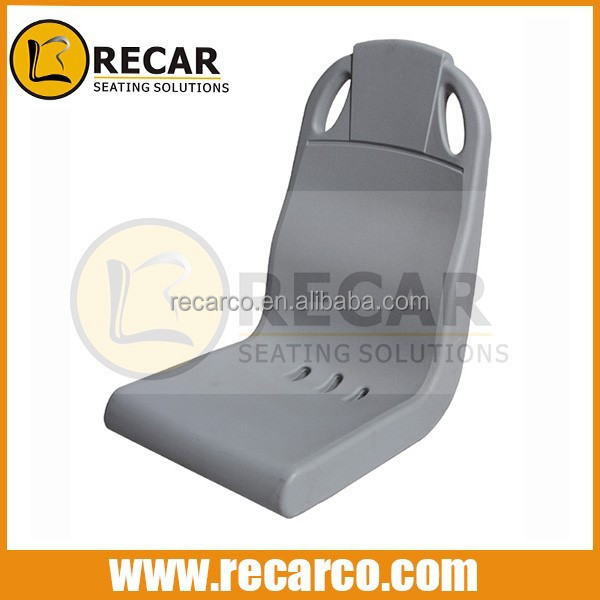 public strong plastic seat, blow molded bus seat manufacturer