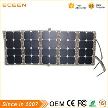 2017 Fashionable professional 130W small size cheapest photovoltaic solar panel