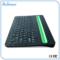 For Android keyboard Wireless Touchpad Mini Bluetooth Keyboard With USB port