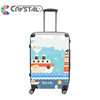Customized Design Trolley Suitcase Luggage Bag trolley Scooter Foldable Patterns Scooter Luggage