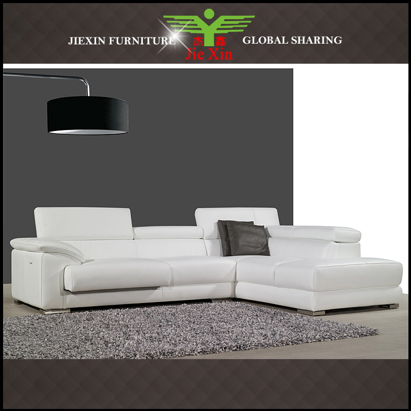 living room genuine leather sofa A732