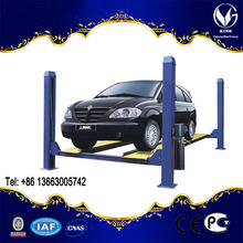 CE Certification and four Post Design used 4 post car lift for sale
