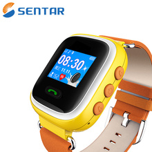 High quality hand watch kids GPS tracker 2017 latest wrist watch phone SOS