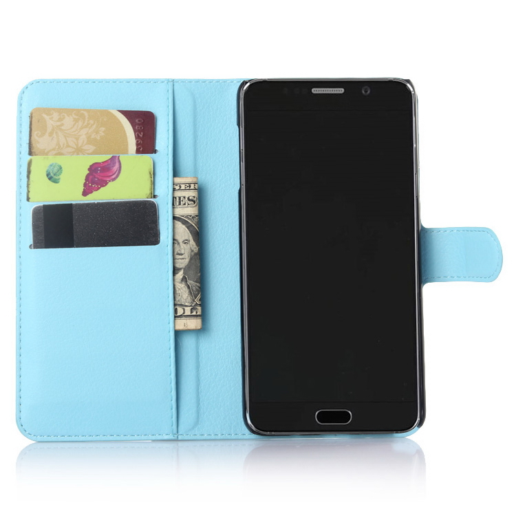 Low price Crazy Selling rock leather case for samsung note5